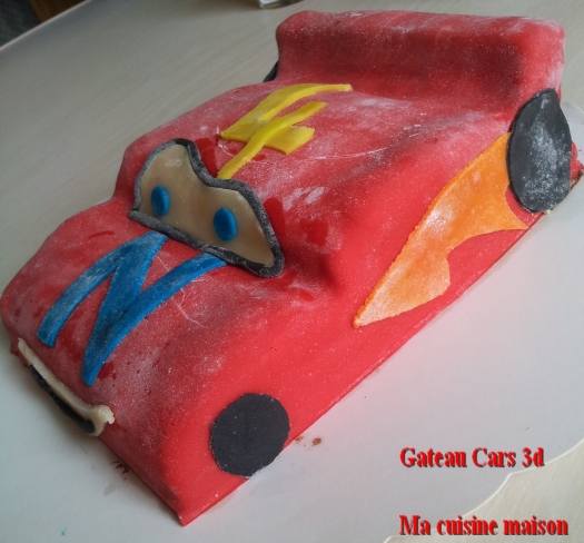 gateau cars 3d2