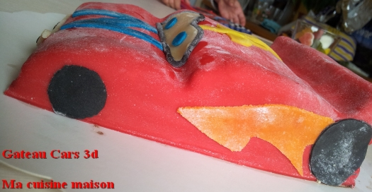 gateau cars 3d4