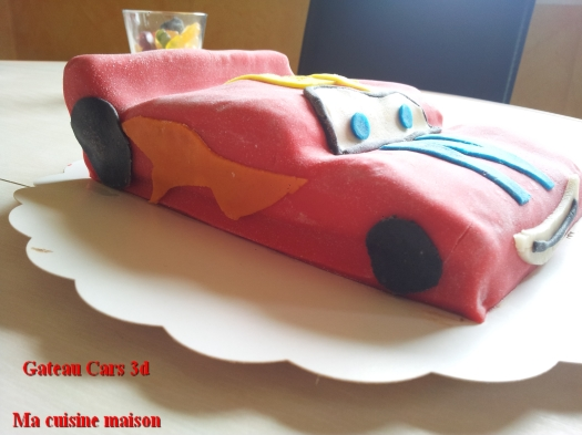 gateau cars 3d5