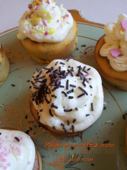 cupcake abricot et noisette5